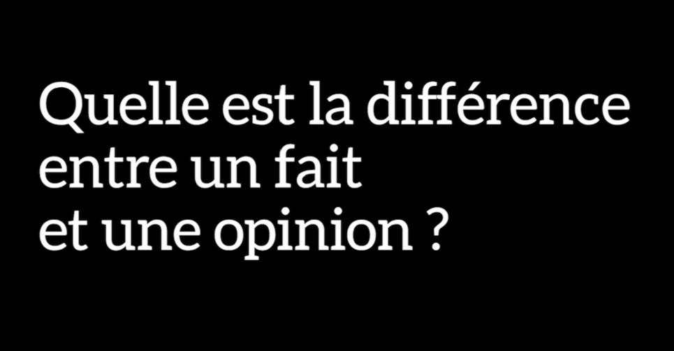 Quelle est la diff rence entre un fait et une opinion - Difference entre conseil d administration et bureau ...