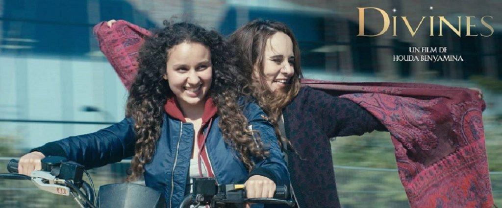Le film Divines met en lumière des femmes combatives issues des quartiers. Crédits : Page Facebook du film
