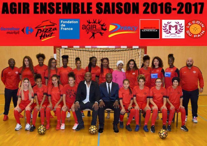 Agir Ensemble solidarité Drancy chômage BAFA permis