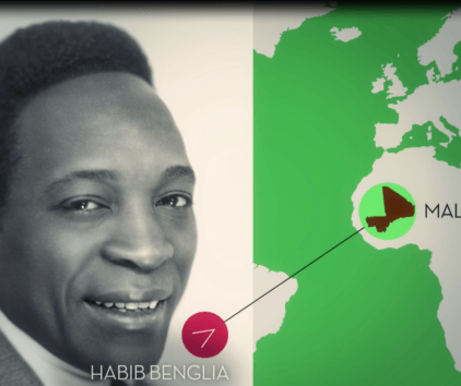 Habib Benglia, le premier acteur noir français