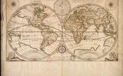 Planisphère ou carte générale du monde @Duval Pierre