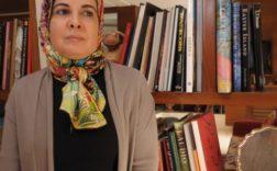 """Asma Lamrabet est l'auteur du livre """"Islam et femmes : les questions qui fâchent"""". Ici en mai 2014 à Rabat. © Hassan Ouazzani pour JA"""