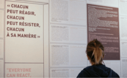 Au site-mémorial du camp des Milles. Fondation du Camp des Milles-Mémoire et éducation