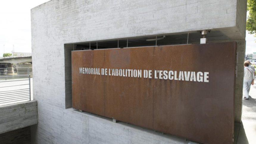 Le mémorial de l'abolition de l'esclavage, à Nantes. Getty Images/Lionel Derimais