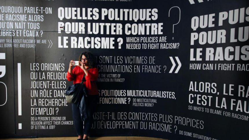 Exposition sur le Racisme - Musée de l'homme à Paris. Photo ALEXIS CHRISTIAEN (Pib) - La Voix du Nord.