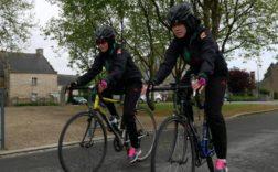 cyclistes Bretagne réfugiés Afghanistan sport moeurs