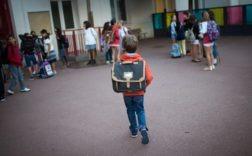 Dans une école parisienne, en septembre 2013. Photo Martin Bureau. AFP