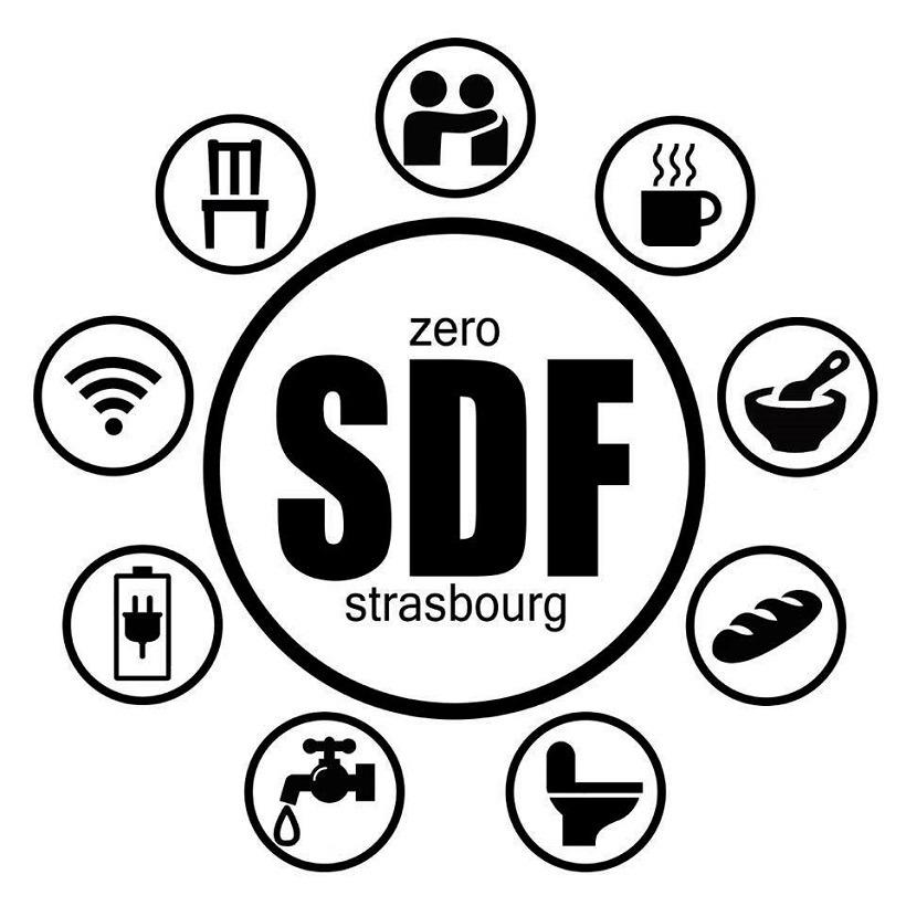 Zéro SDF à Strasbourg