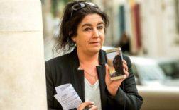 Béatrice Huret est veuve d'un policier aux frontières. (Photo: AFP)