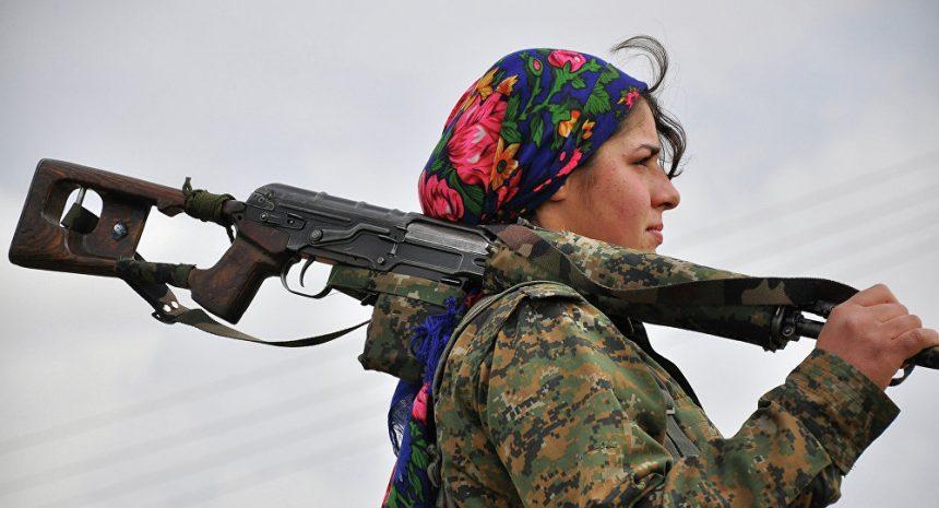 Daesh ISIS islamiste kurde femme soldats courage
