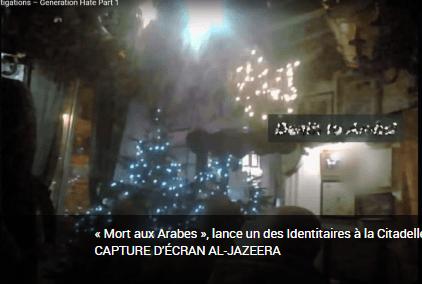 Génération identitaire au cœur d'une enquête édifiante d'Al Jazeera