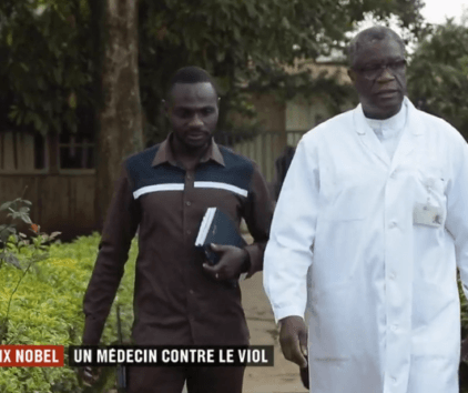 Nobel de la paix : Denis Mukwege, un médecin contre le viol