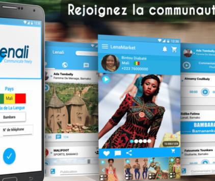 Lenali, le réseau social adapté à la culture d'oralité en Afrique