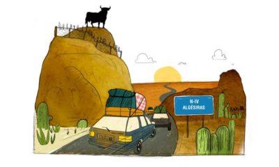 La route du bled est un road trip dans l'histoire des Maghrébins de France.