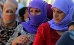 le dernier groupe de femmes yazidies reçues en France