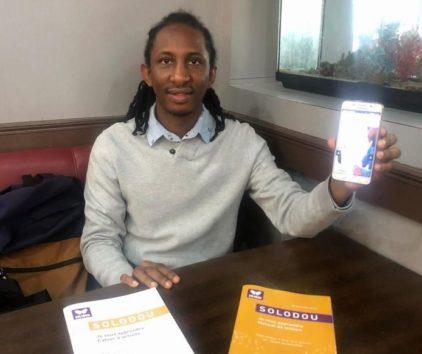 Val-d'Oise : ce réfugié a créé Solodou, une application pour apprendre le français