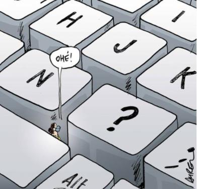 Illectronisme et fracture numérique