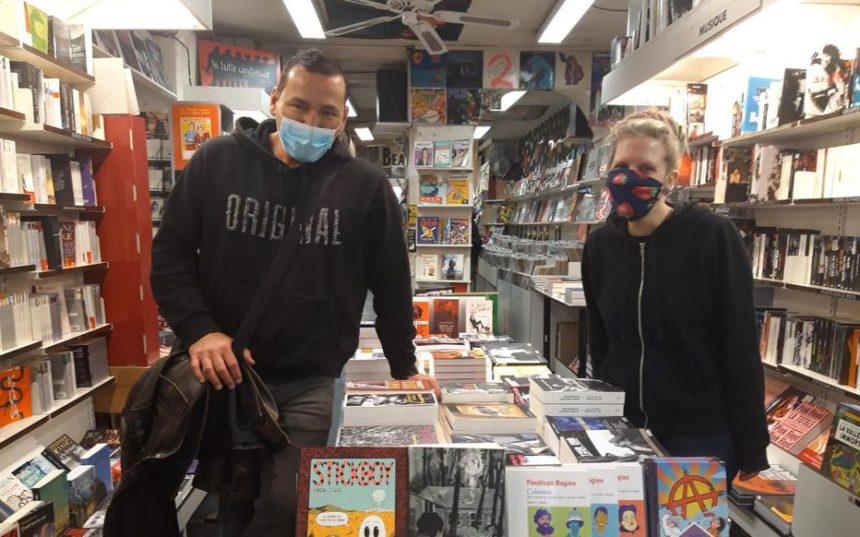 les libraires émus à la réouverture