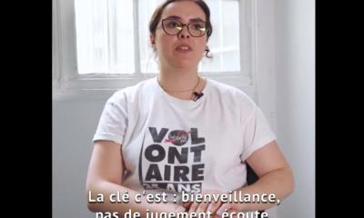 Mathilde engagée à Solidarité SIDA