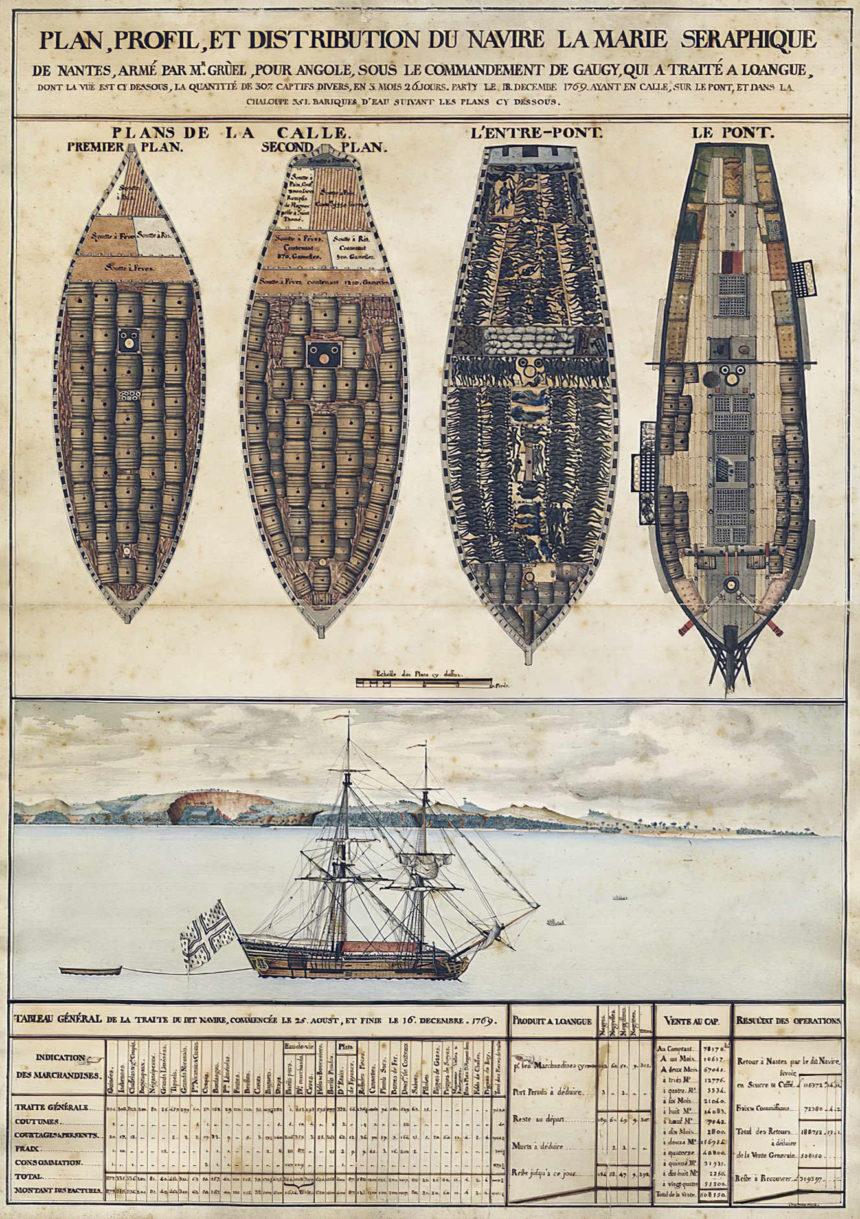 Nantes fut le premier port négrier de France.