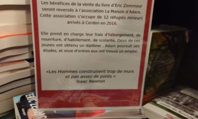 livre d'Eric Zemmour et migrants